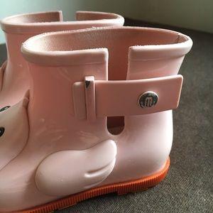 Mini Melissa Shoes - Melissa rubber duck rain boots